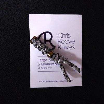 Chris Reeve Lanyard L21 Gold and Urban Camo