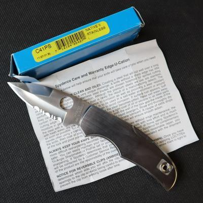 Spyderco Native II AUS-10 (1997) - 1