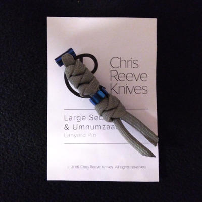 Chris Reeve Lanyard L21 Blue and Grey