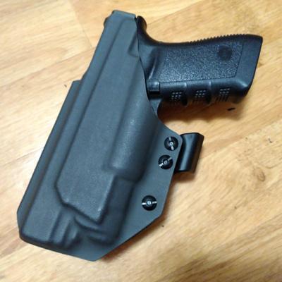 StayReady Holster for G21+APLc - kydexové pouzdro pro Glock 21 se svítilnou APLc - 2