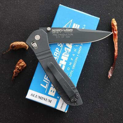 Benchmade McHenry & Williams Pre-Production 1 of 500 - 2