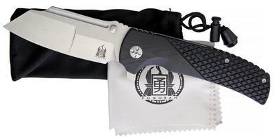 Komoran Linerlock Folding Knife G-10 - 2