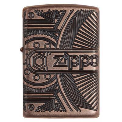 Zippo Armor Gears Antique Copper - 2