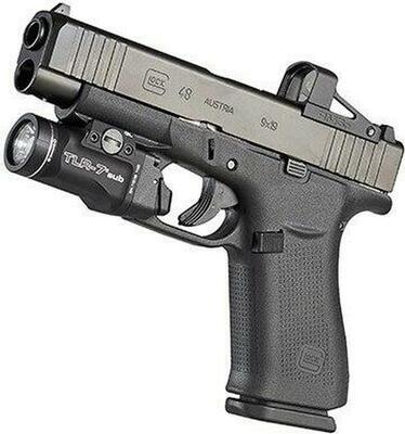 Streamlight TLR-7 sub 500 lm pro Glock 43X/48 Rail 1x CR 123a - 2
