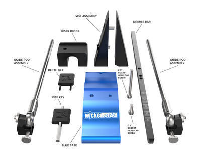 Wicked Edge Precision Knife Sharpener WE120 - 2