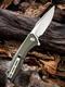 Civivi Baklash Green G-10 Scale 9Cr18MoV Blade - 2/4