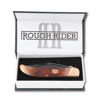Rough Rider RR1845 Backwoods Buschcrafter Linerlock - 2