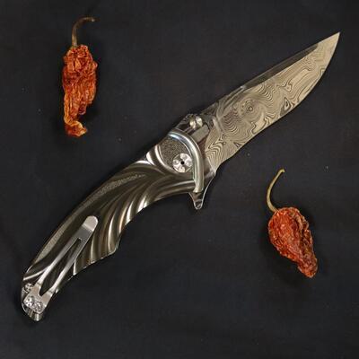 Brian Tighe Tighe Coon Custom Hand Made - 2