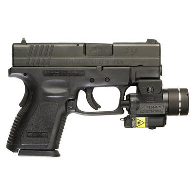 Streamlight TLR-4 Rail Mounted Tactical Led Flashlight with Laser - 2
