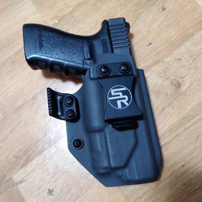 StayReady Holster for G21+APLc - kydexové pouzdro pro Glock 21 se svítilnou APLc - 3