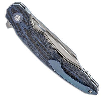 Bestech Knives Fanga Linerlock Blue G-10 - 3