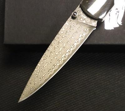 "Stoneworks Damascus 4"" Linerlock Mammoth Tusk Collection 1 - 3"