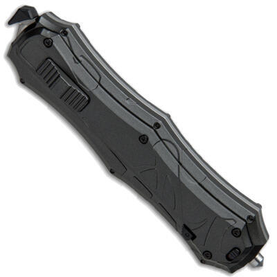 Smith & Wesson OTF Assist Finger Actuator Tanto Serrated - 3